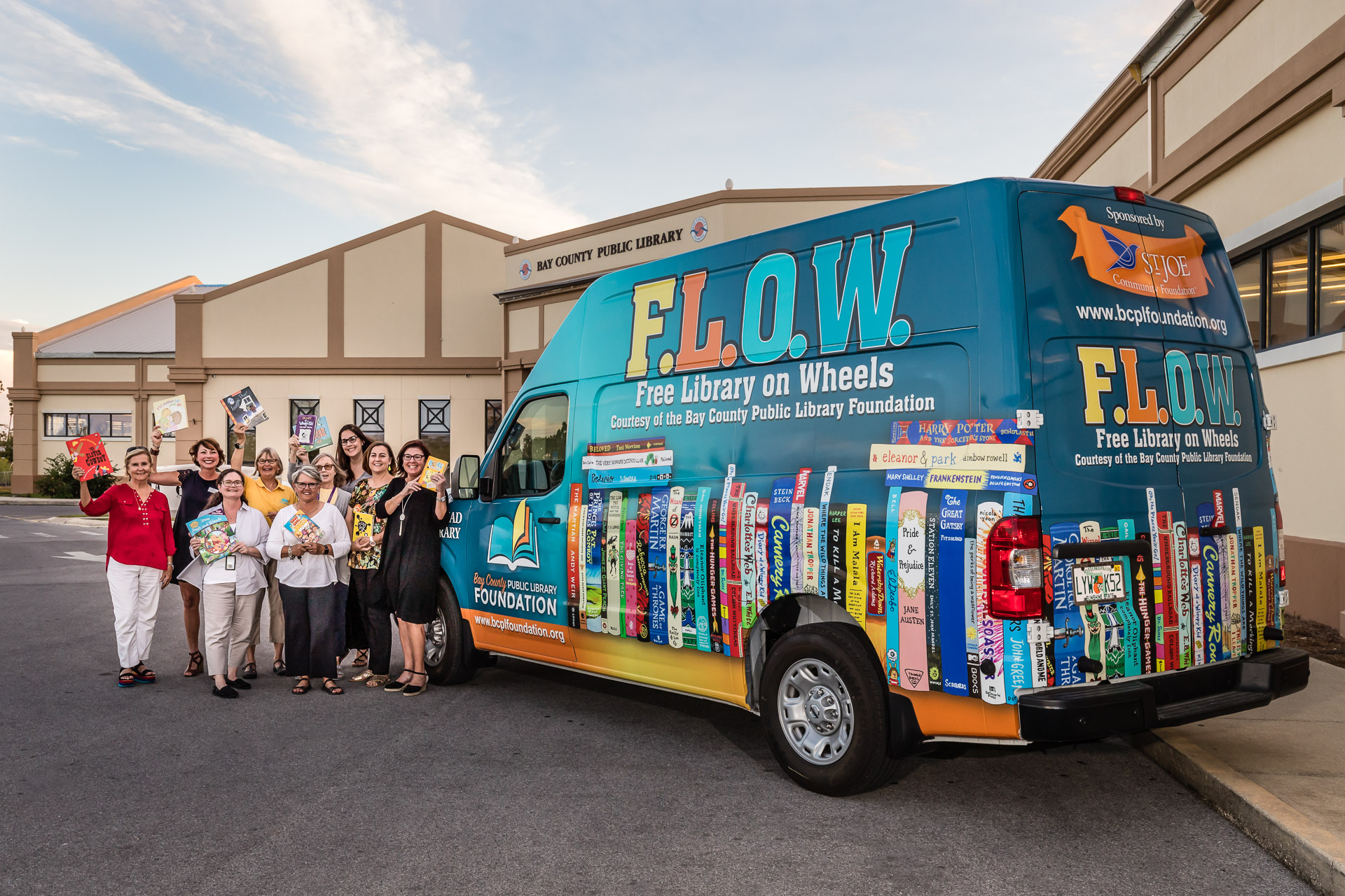 Free Library on Wheels